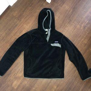 Patagonia Synchilla Snap-T Hoody Fleece in black
